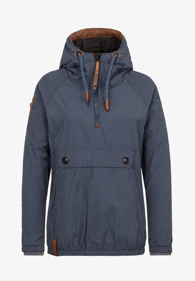 Outdoorjas - dark bluegrey