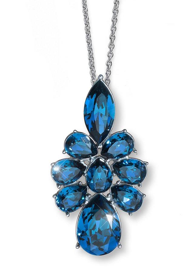 Halskette - blau