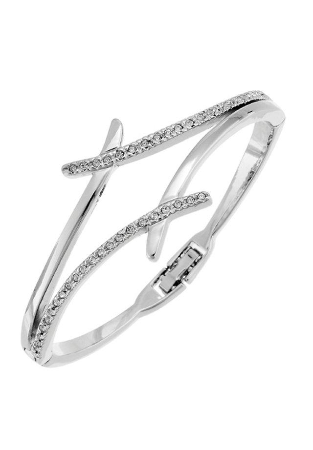 DIVIDE - Armband - weiss