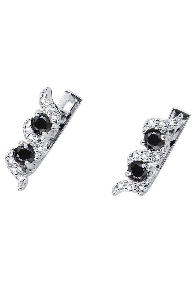 PASO  - Boucles d'oreilles - silver, black