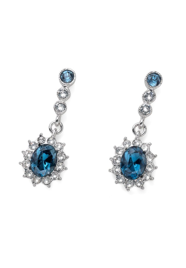 PRINCESS - Earrings - blau
