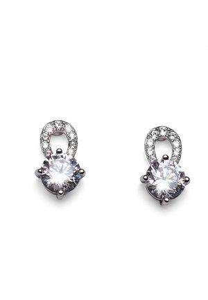 GLEAM - Earrings - weiss