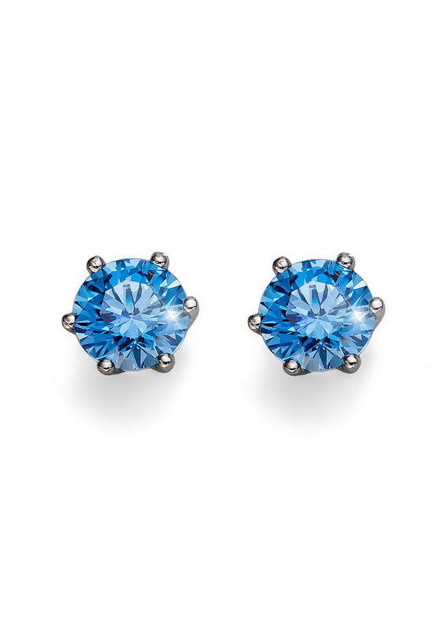 BRILLIANCE - Earrings - blau
