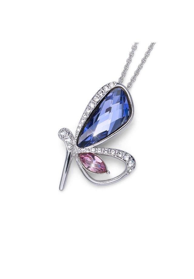 MIT ANHÄNGER FARFALLA - Hanger - violett