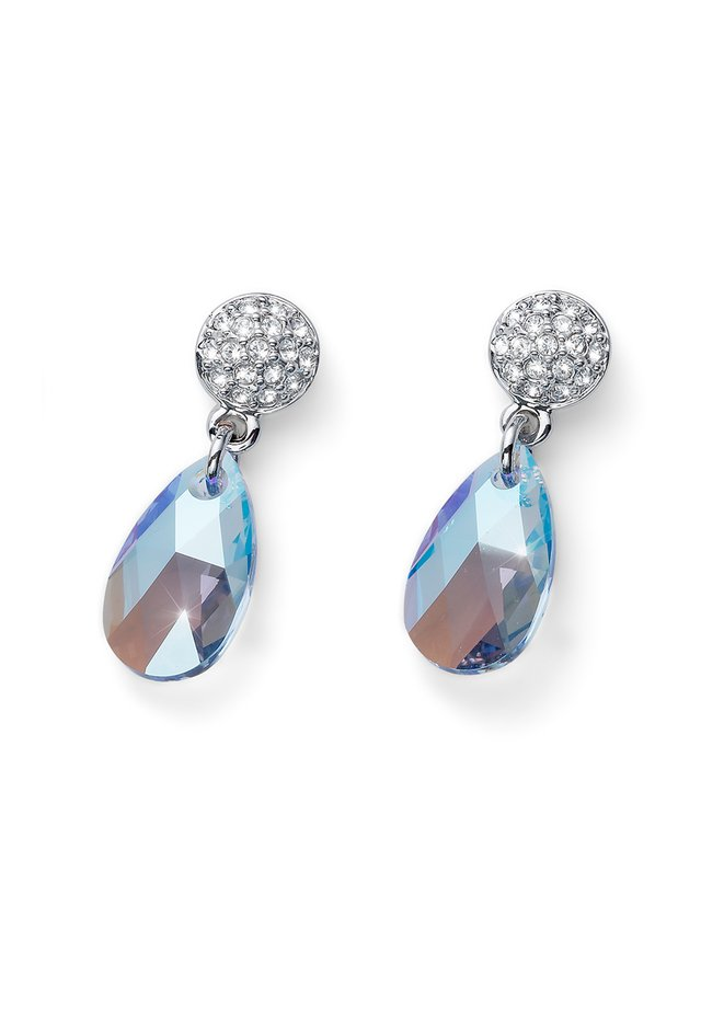 SHIMMER - Earrings - blau