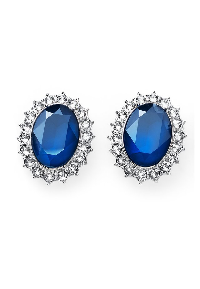 Earrings - blau