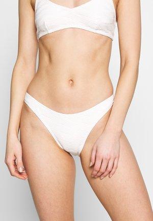 MALDIVES HIGH CUT PANT - Bikiniunderdel - white
