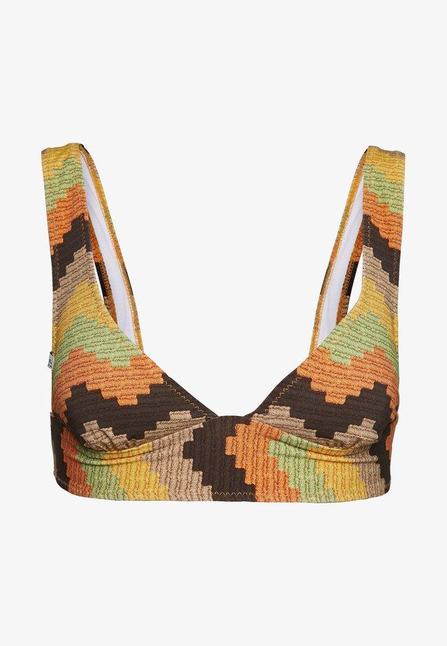 COZUMEL TALL TRI TOP - Bikini top - cocoa
