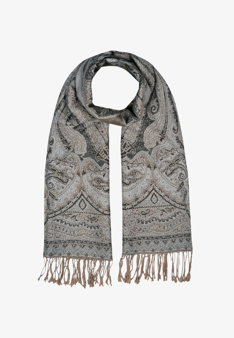 Silvio Tossi - Scarf - light grey