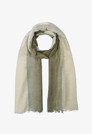 Schal - olive/beige