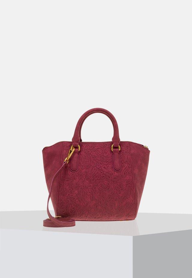 Handbag - burgundy