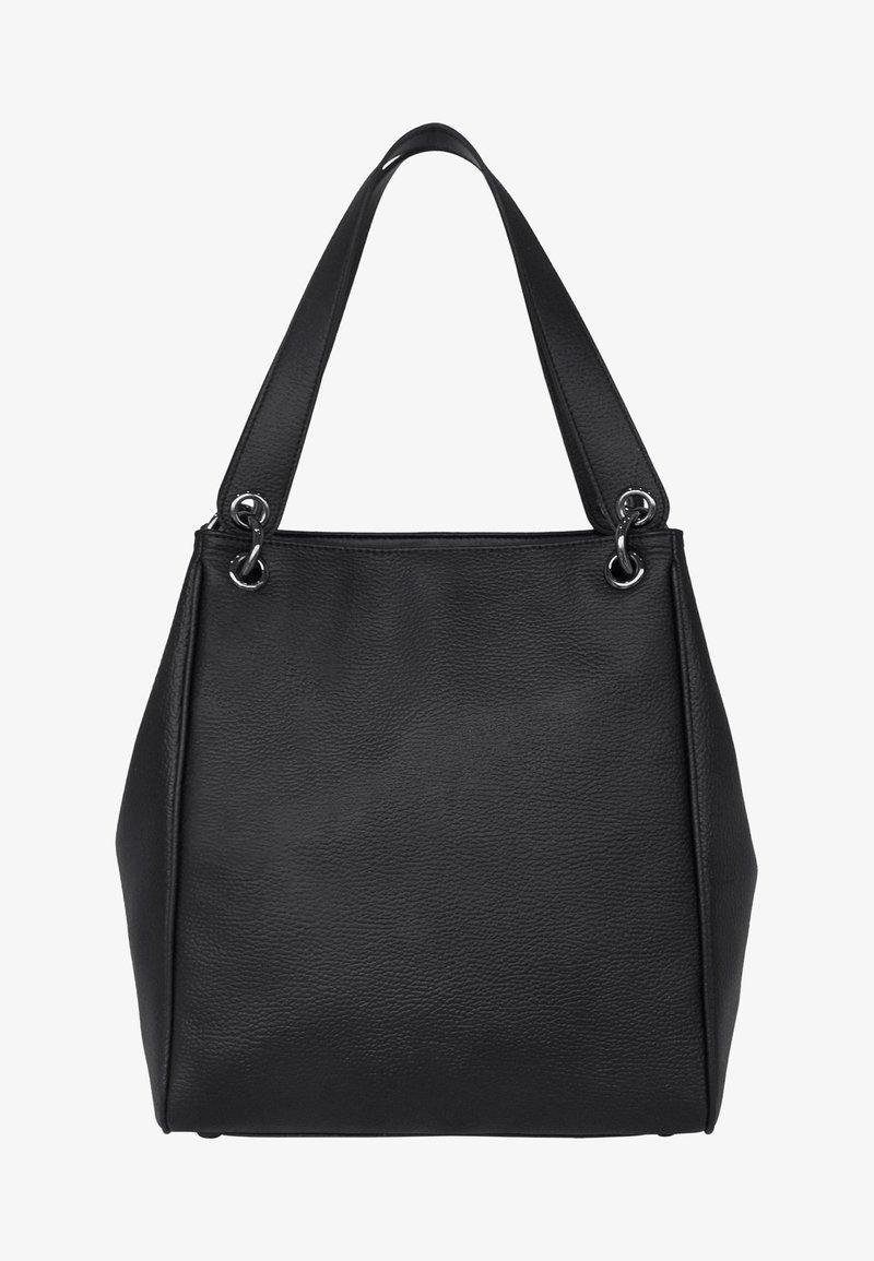 Silvio Tossi - Shopping bag - black