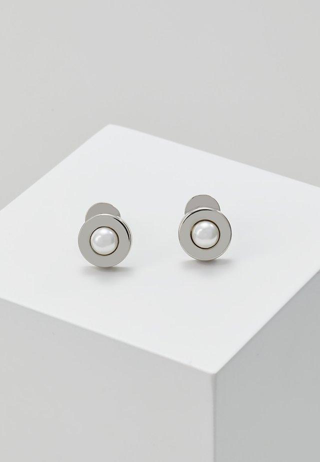 AGNETHE - Náušnice - silver-coloured