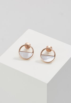 ELIN - Earrings - roségold-coloured