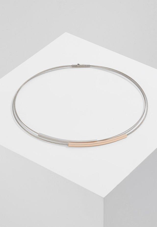 ELIN - Náhrdelník - silver-coloured/ rosegold-coloured