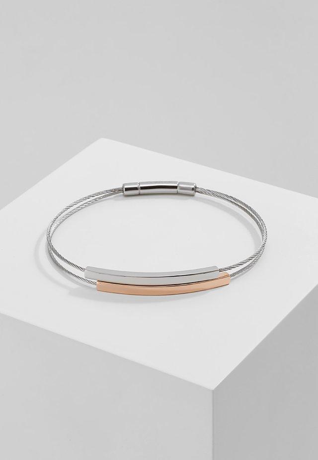 ELIN - Náramek - silver-coloured/rosegold-coloured