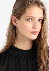 Skagen - ELIN - Earrings - silber-coloured/roségold-coloured - 1