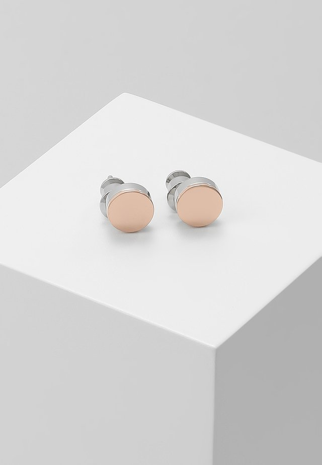ELIN - Ohrringe - silver-coloured/roségold-coloured