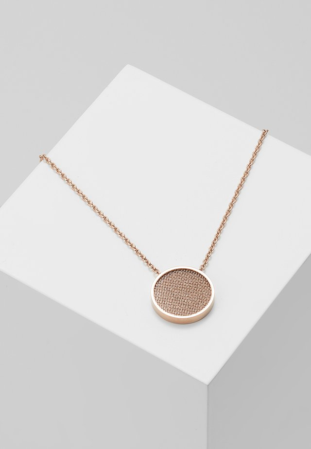 MERETE - Necklace - roségold-coloured