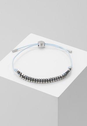 ANETTE - Bransoletka - schwarz/silver-coloured