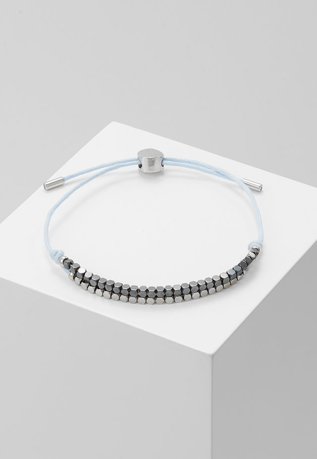 ANETTE - Armband - schwarz/silver-coloured