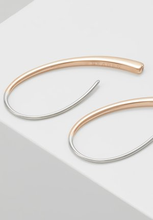 ELIN - Øreringe - roségold-coloured/silver-coloured