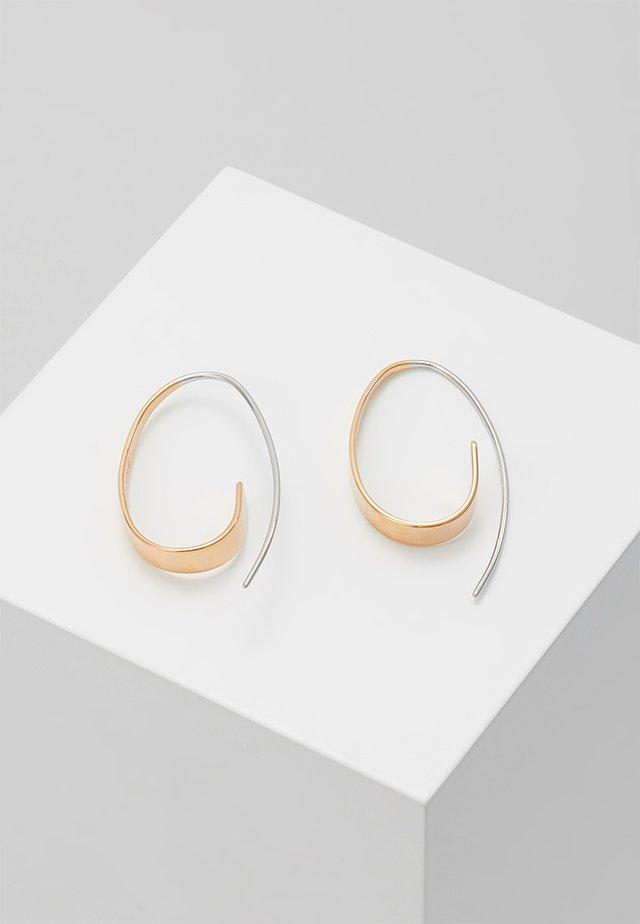 KARIANA - Náušnice - roségold-coloured/silver-coloured