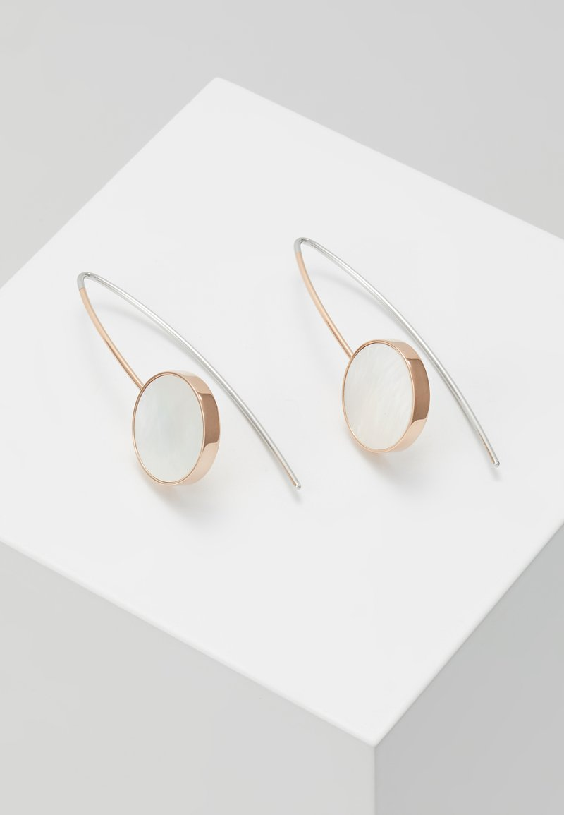 Skagen - AGNETHE - Earrings - rose gold-coloured