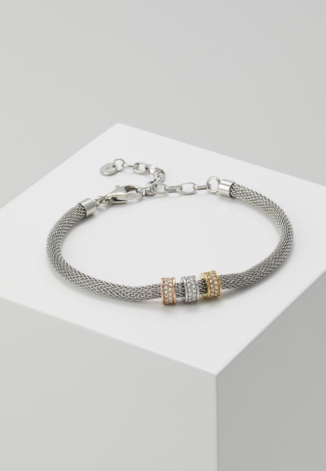 MERETE - Bransoletka - silver-coloured