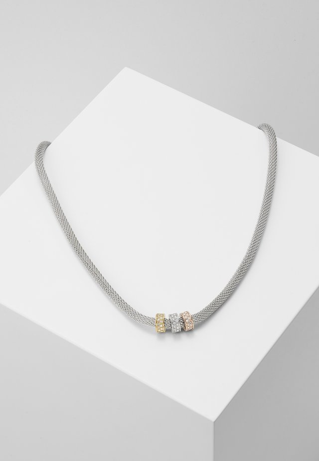 MERETE - Necklace - tri tone