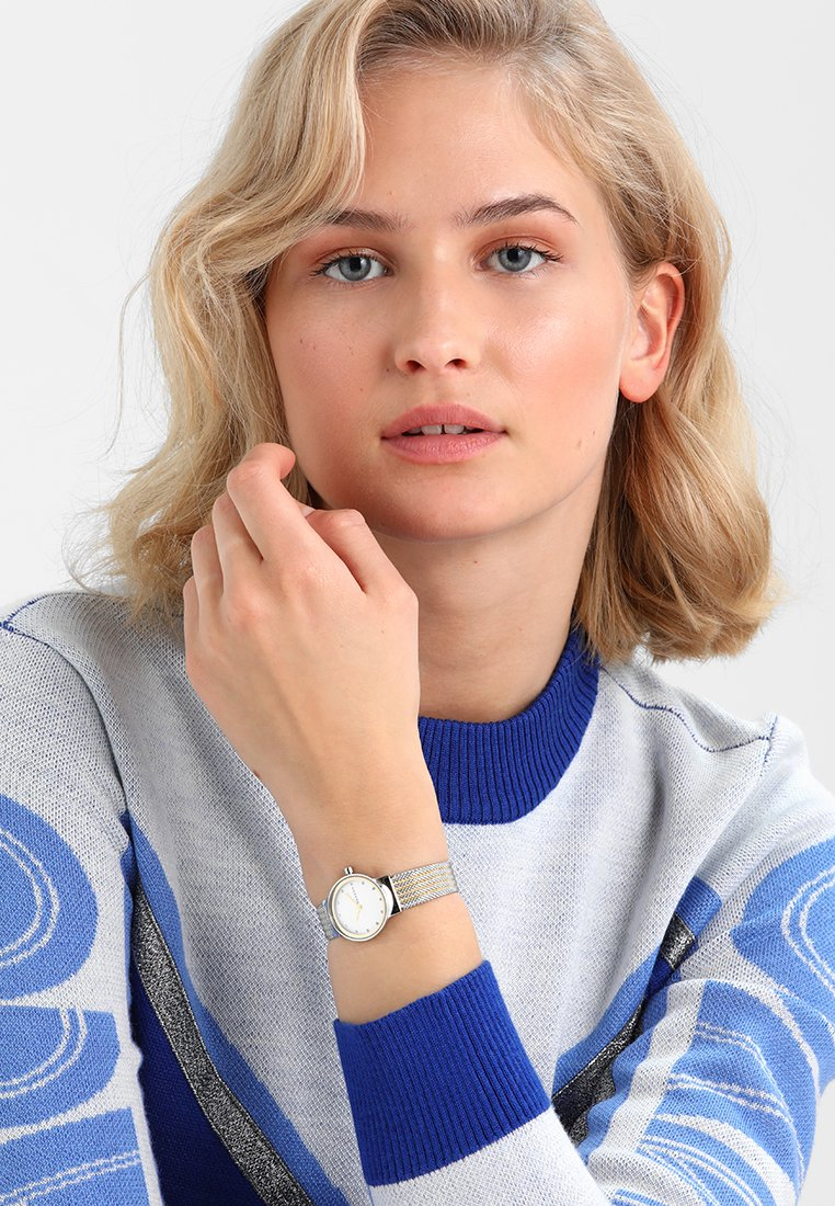 Skagen - FREJA - Horloge - silver-coloured/gold-coloured