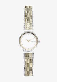 Skagen - FREJA - Horloge - silver-coloured/gold-coloured - 1