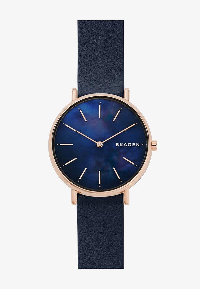 SIGNATUR - Uhr - blau