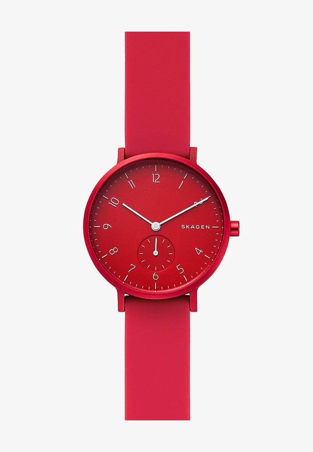 AAREN - Uhr - rot