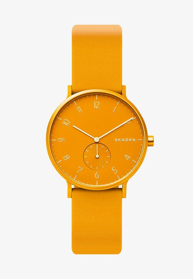 AAREN - Hodinky - yellow