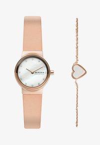 Skagen - FREJA SET - Horloge - pink - 0