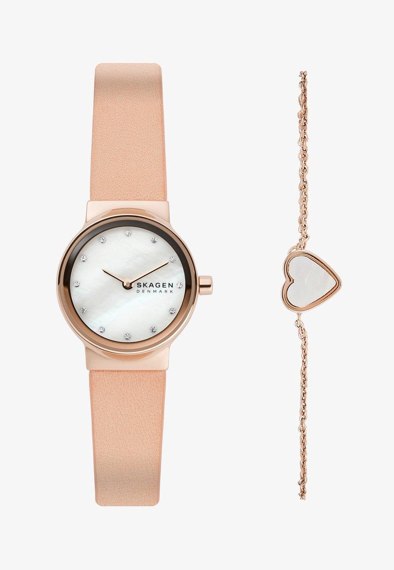 Skagen - FREJA SET - Horloge - pink