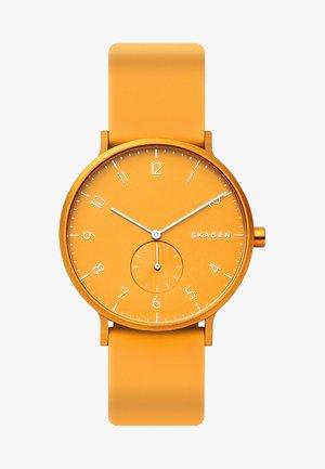 AAREN - Uhr - gelb