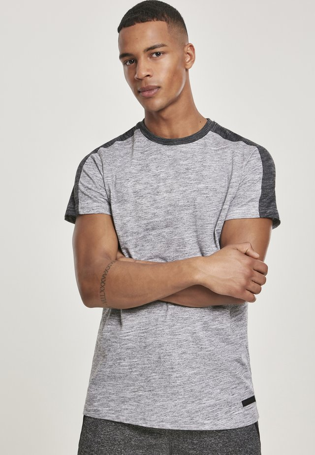 TECH  - T-shirt print - grey