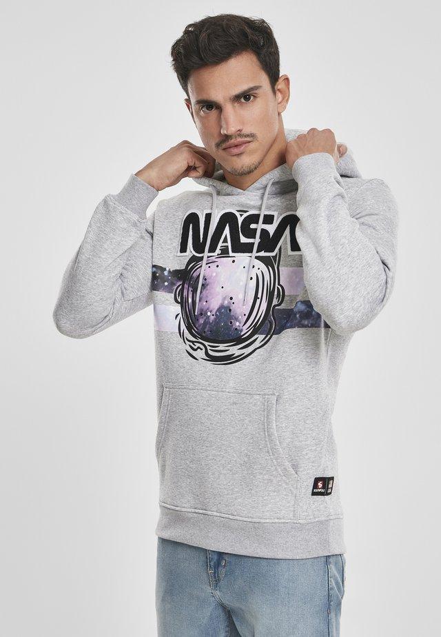 NASA ASTRONAUT  - Sweat à capuche - heather grey