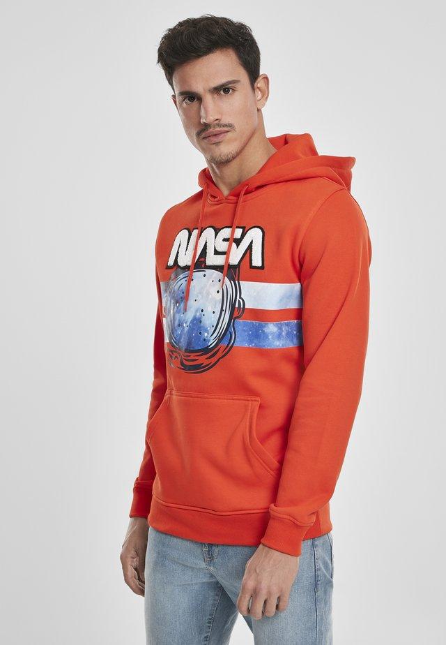 NASA ASTRONAUT  - Sweat à capuche - orange