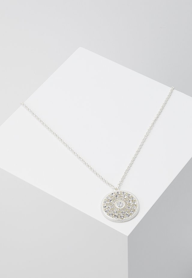 Necklace - silver/crystal