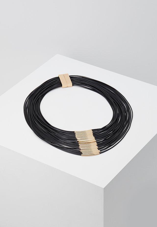 LIV - Halskette - gold/black