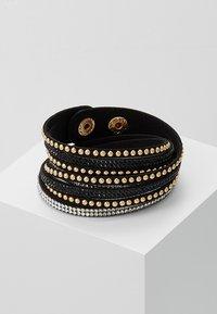 sweet deluxe - WANDA - Bracelet - black/gold-coloured - 0