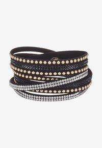 sweet deluxe - WANDA - Bracelet - black/gold-coloured - 3