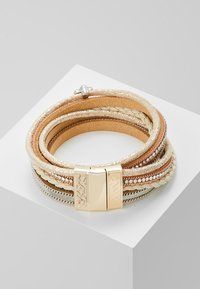 sweet deluxe - MEMPHIS - Bracciale - gold-coloured/braun - 2