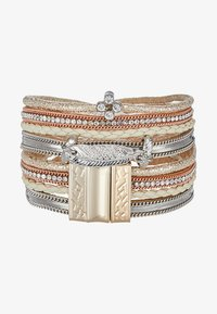 sweet deluxe - MEMPHIS - Bracciale - gold-coloured/braun - 3