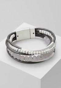 sweet deluxe - RABEA - Pulsera - silver-coloured/grey - 0