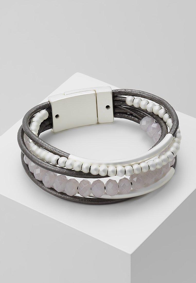 sweet deluxe - RABEA - Bracelet - silver-coloured/grey