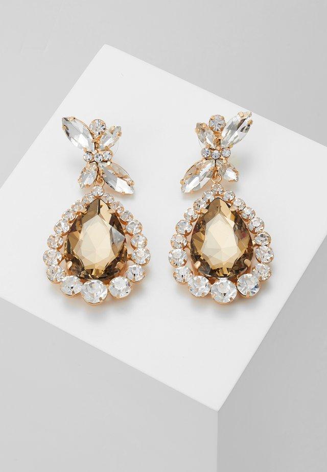 PRINCESS STYLE - Boucles d'oreilles - gold-coloured/transparenz